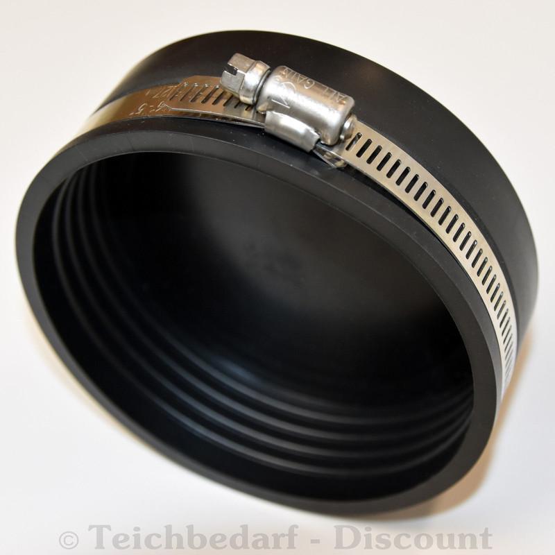 STAL Endkappe Abdeckkappe  Rohrkappe Rechteckkappe äußere Kappe schwarz