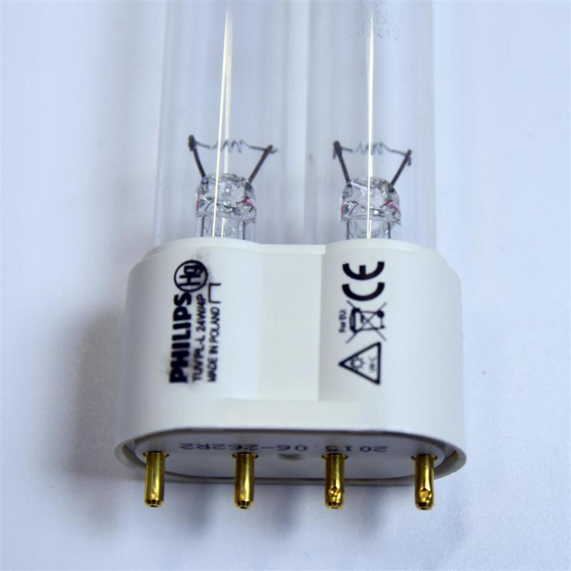 philips uvc 24 watt pl l 2g11 uv ersatz lampe oase bitron osaga koi t 14 90. Black Bedroom Furniture Sets. Home Design Ideas