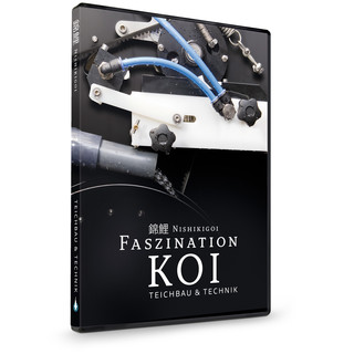 Nishikigoi | FASZINATION KOI - Teichbau & Technik - DVD Teil 2 Ratgeber Video - Koi / Teich / Japan