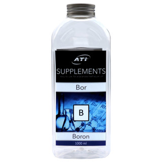 ATI Supplements Boron (Bor) Einzelelement für Riffaquarien - Inhalt: 1.000 ml